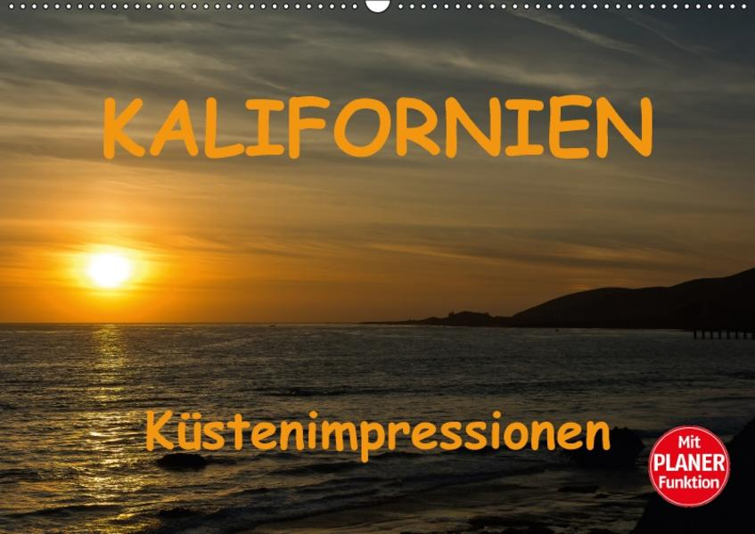 KALIFORNIEN Küstenimpressionen (Wandkalender 2017 DIN A2 quer) - Coverbild
