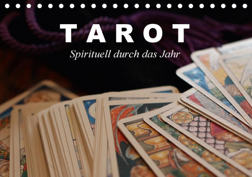 Tarot. Spirituell durch das Jahr (Tischkalender 2017 DIN A5 quer) - Coverbild