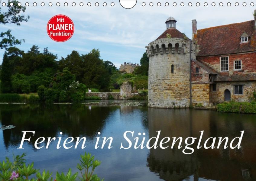 Ferien in Südengland (Wandkalender 2017 DIN A4 quer) - Coverbild