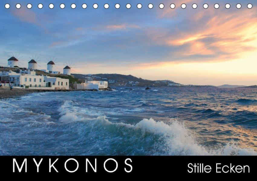 Mykonos - Stille Ecken (Tischkalender 2017 DIN A5 quer) - Coverbild