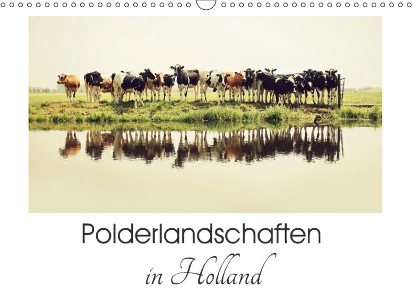 Polderlandschaften in Holland (Wandkalender 2017 DIN A3 quer) - Coverbild