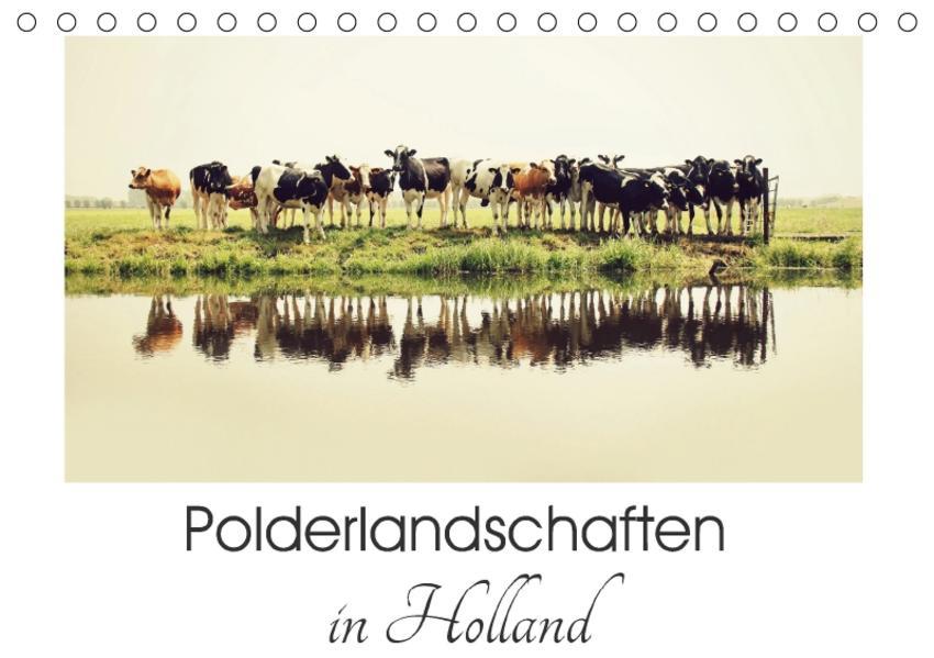 Polderlandschaften in Holland (Tischkalender 2017 DIN A5 quer) - Coverbild