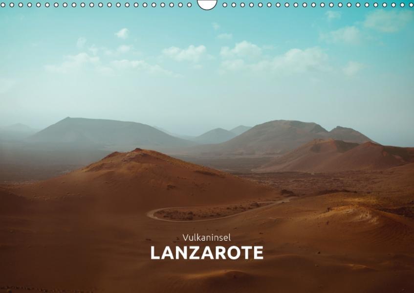 Vulkaninsel – Lanzarote (Wandkalender 2017 DIN A3 quer) - Coverbild