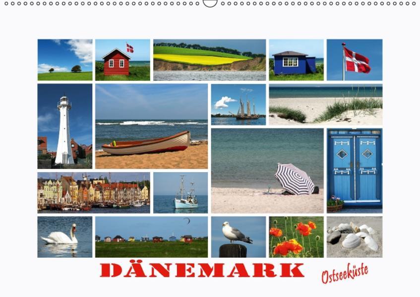 Dänemark - Ostseeküste (Wandkalender 2017 DIN A2 quer) - Coverbild