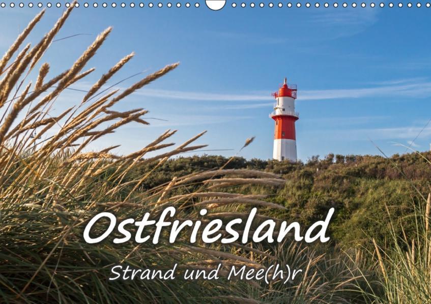 OSTFRIESLAND Strand und Mee(h)r (Wandkalender 2017 DIN A3 quer) - Coverbild
