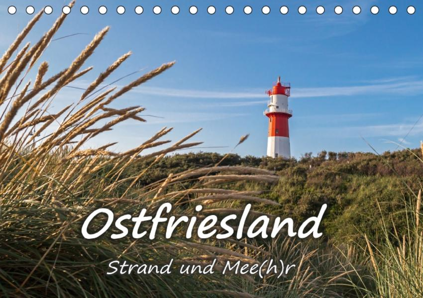 OSTFRIESLAND Strand und Mee(h)r (Tischkalender 2017 DIN A5 quer) - Coverbild