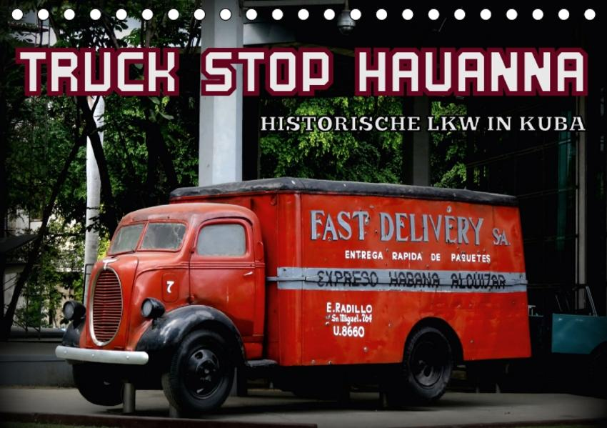 TRUCK STOP HAVANNA (Tischkalender 2017 DIN A5 quer) - Coverbild