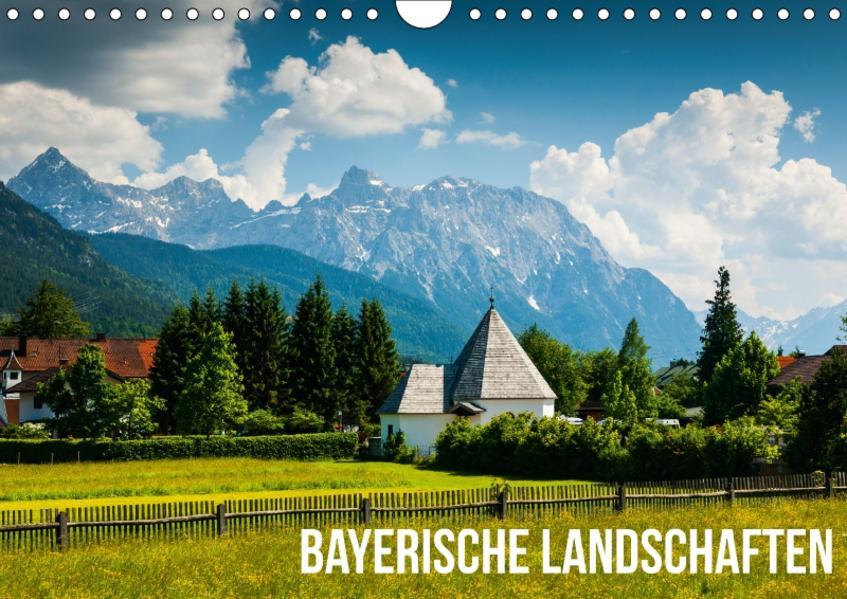 Bayerische Landschaften (Wandkalender 2017 DIN A4 quer) - Coverbild