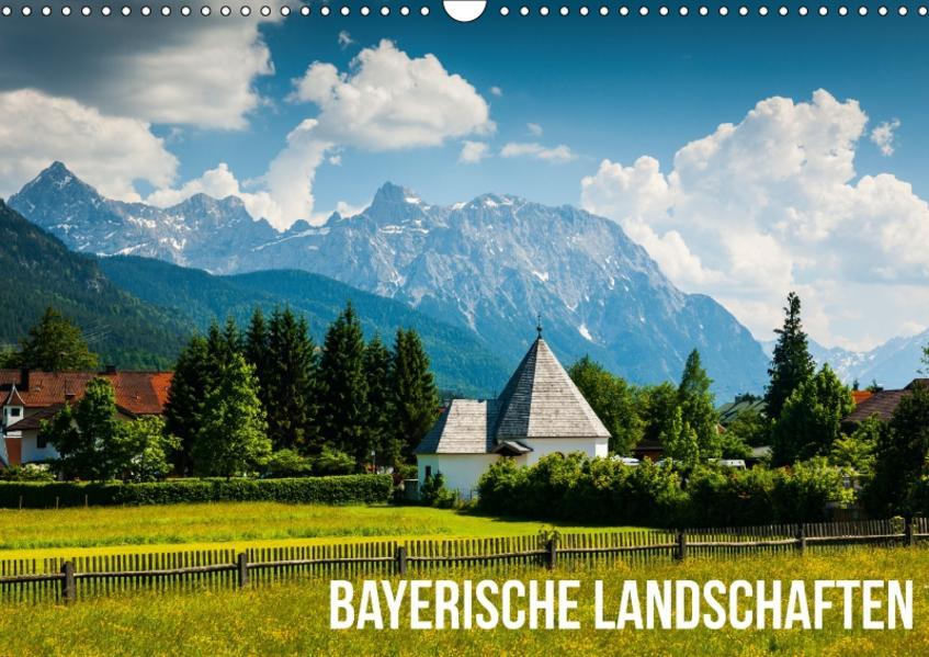 Bayerische Landschaften (Wandkalender 2017 DIN A3 quer) - Coverbild