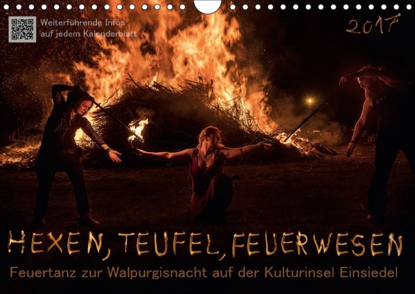 Hexen, Teufel, Feuerwesen (Wandkalender 2017 DIN A4 quer) - Coverbild