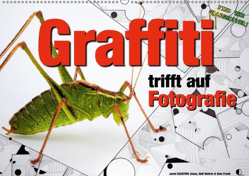 Graffiti trifft auf Fotografie (Wandkalender 2017 DIN A2 quer) - Coverbild