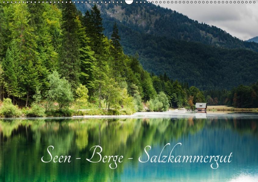 Seen - Berge - Salzkammergut (Wandkalender 2017 DIN A2 quer) - Coverbild