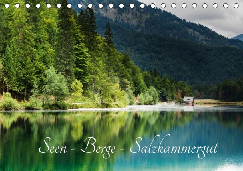 Seen - Berge - Salzkammergut (Tischkalender 2017 DIN A5 quer) - Coverbild