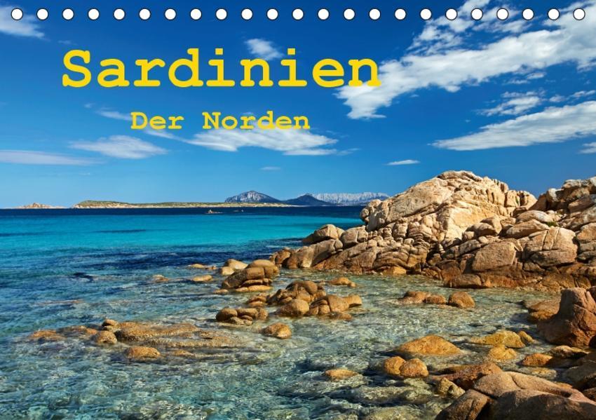Sardinien - Der Norden (Tischkalender 2017 DIN A5 quer) - Coverbild
