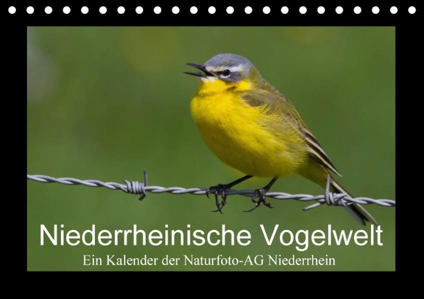 Niederrheinische Vogelwelt (Tischkalender 2017 DIN A5 quer) - Coverbild