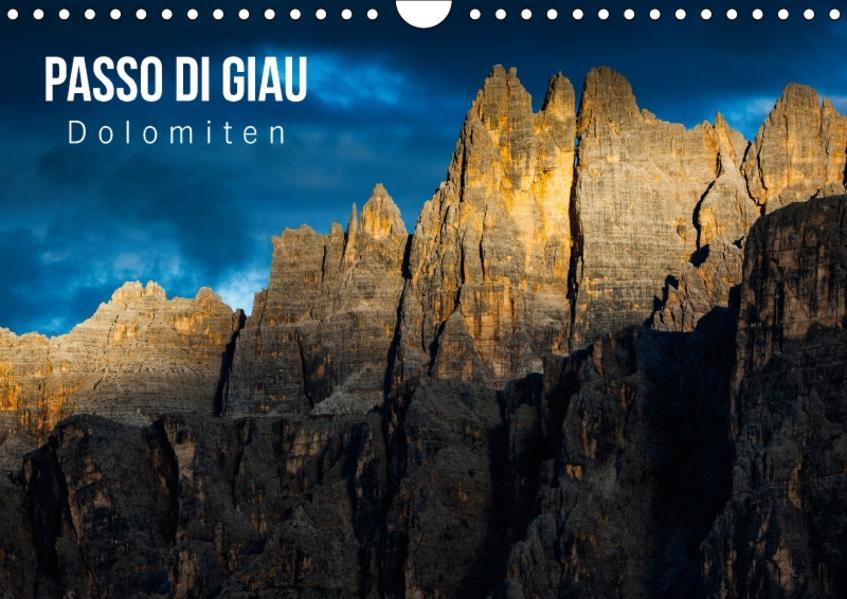 Passo di Giau – Dolomiten (Wandkalender 2017 DIN A4 quer) - Coverbild