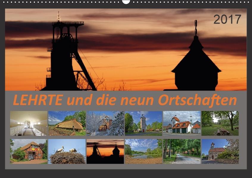 Lehrte und die neun Ortschaften (Wandkalender 2017 DIN A2 quer) - Coverbild