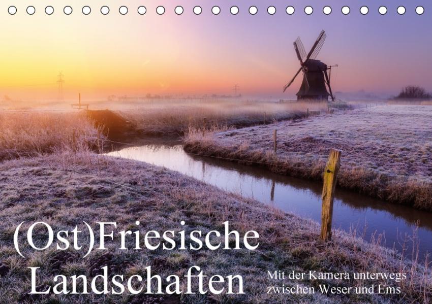 (Ost)Friesische Landschaften (Tischkalender 2017 DIN A5 quer) - Coverbild