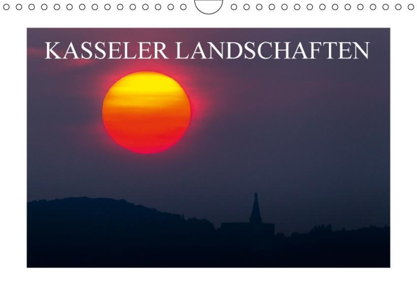 Kasseler Landschaften (Wandkalender 2017 DIN A4 quer) - Coverbild
