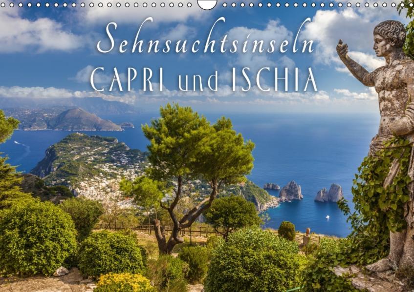 Sehnsuchtsinseln Capri und Ischia (Wandkalender 2017 DIN A3 quer) - Coverbild
