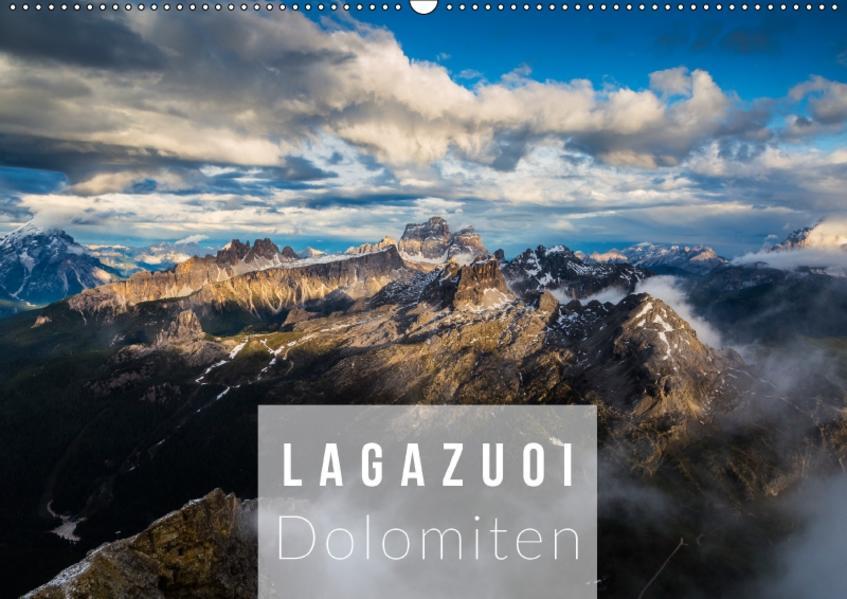 Lagazuoi Dolomiten (Wandkalender 2017 DIN A2 quer) - Coverbild