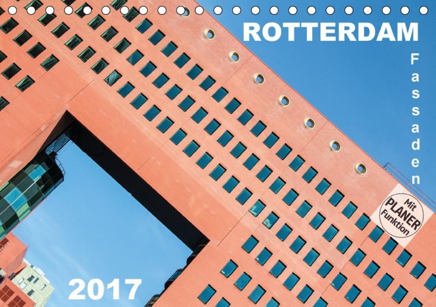 Rotterdam Fassaden (Tischkalender 2017 DIN A5 quer) - Coverbild