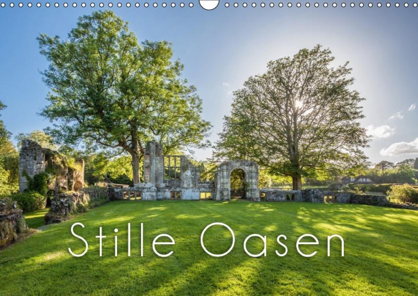 Stille Oasen (Wandkalender 2017 DIN A3 quer) - Coverbild