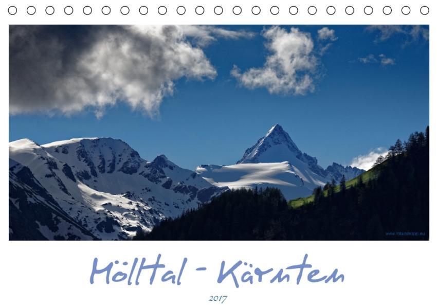Mölltal - Kärnten (Tischkalender 2017 DIN A5 quer) - Coverbild