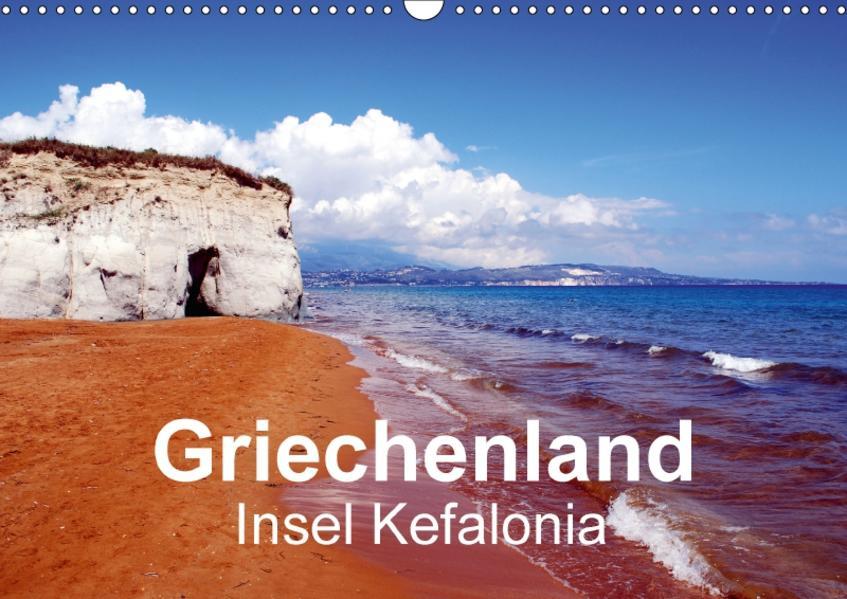Griechenland - Insel Kefalonia (Wandkalender 2017 DIN A3 quer) - Coverbild