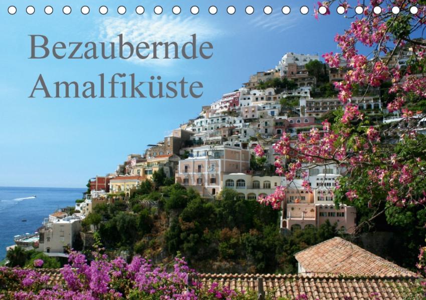 Bezaubernde Amalfiküste (Tischkalender 2017 DIN A5 quer) - Coverbild