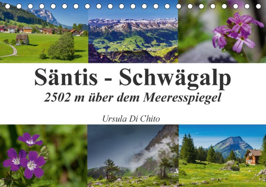 Säntis - Schwägalp (Tischkalender 2017 DIN A5 quer) - Coverbild