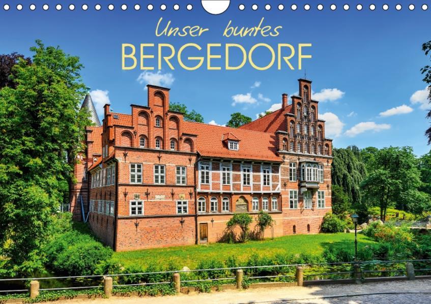 Unser buntes Bergedorf (Wandkalender 2017 DIN A4 quer) - Coverbild