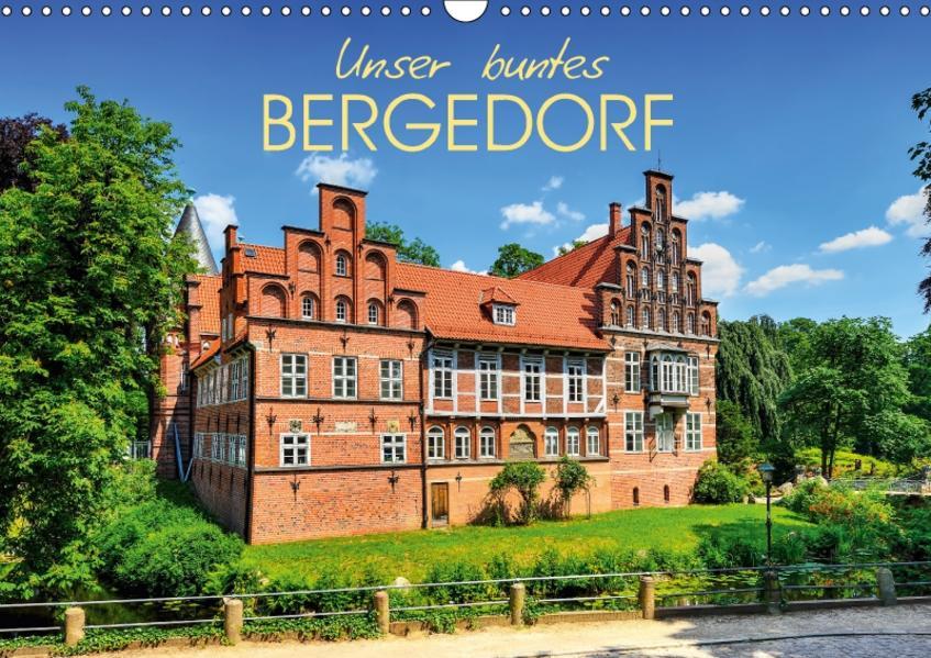 Unser buntes Bergedorf (Wandkalender 2017 DIN A3 quer) - Coverbild