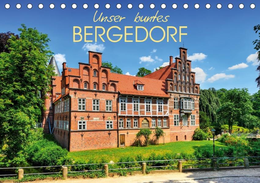 Unser buntes Bergedorf (Tischkalender 2017 DIN A5 quer) - Coverbild