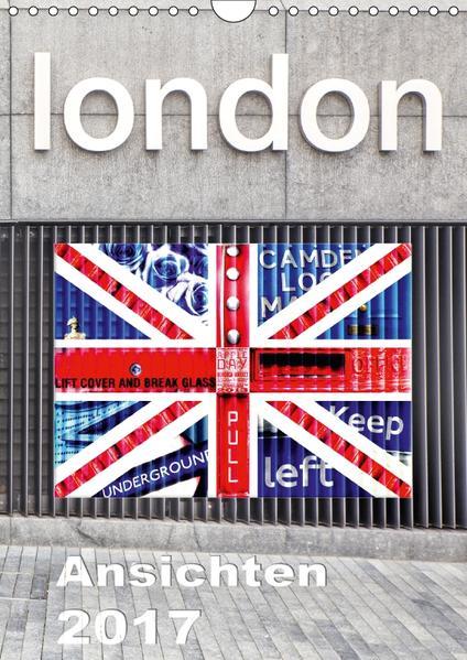 London Ansichten 2017 (Wandkalender 2017 DIN A4 hoch) - Coverbild