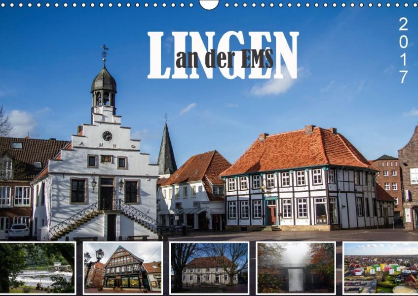 LINGEN an der Ems (Wandkalender 2017 DIN A3 quer) - Coverbild