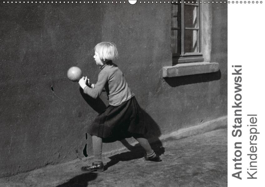 Anton Stankowski: Kinderspiel (Wandkalender 2017 DIN A2 quer) - Coverbild