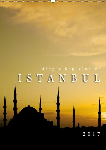 Istanbul 2017 (Wandkalender 2017 DIN A2 hoch) - Coverbild
