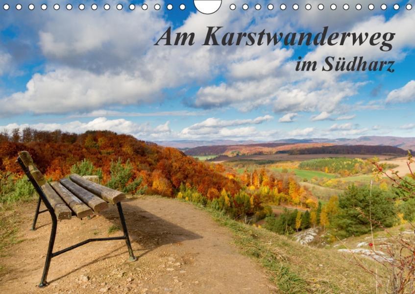 Am Karstwanderweg im Südharz (Wandkalender 2017 DIN A4 quer) - Coverbild