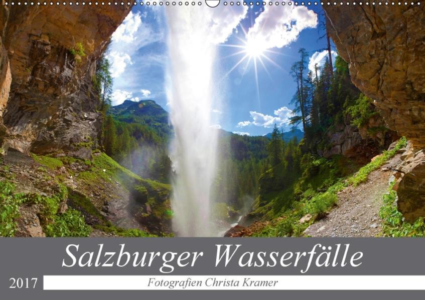 Salzburger Wasserfälle (Wandkalender 2017 DIN A2 quer) - Coverbild