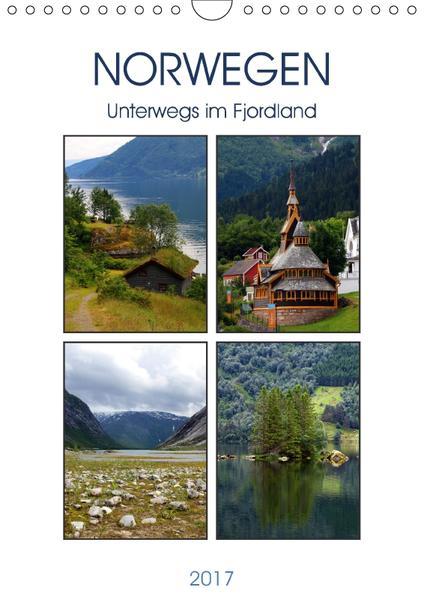 Norwegen - Unterwegs im Fjordland (Wandkalender 2017 DIN A4 hoch) - Coverbild