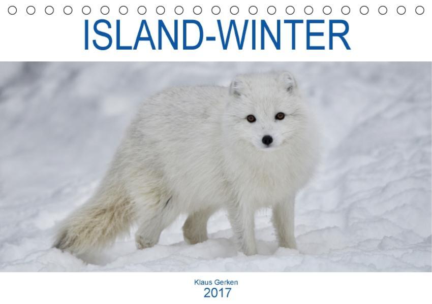 ISLAND-WINTER (Tischkalender 2017 DIN A5 quer) - Coverbild