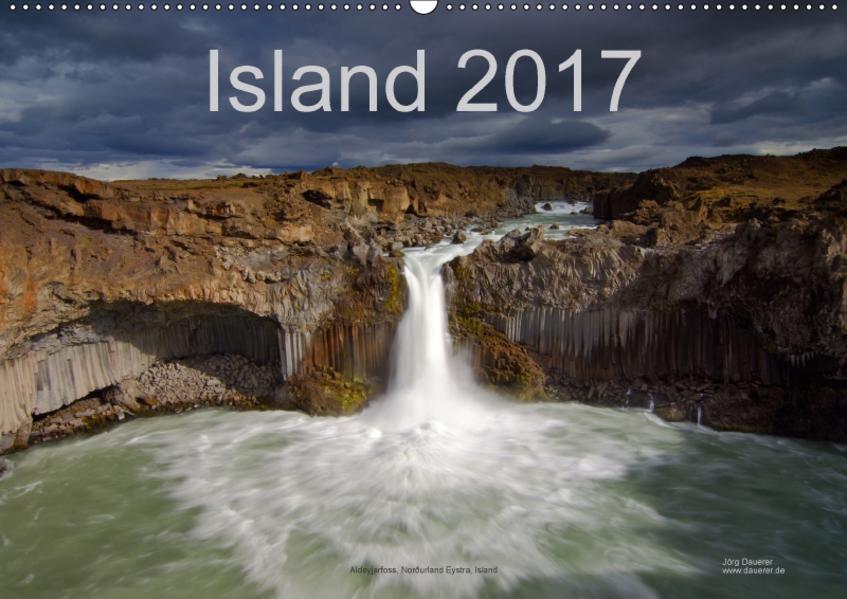 Island (Wandkalender 2017 DIN A2 quer) - Coverbild