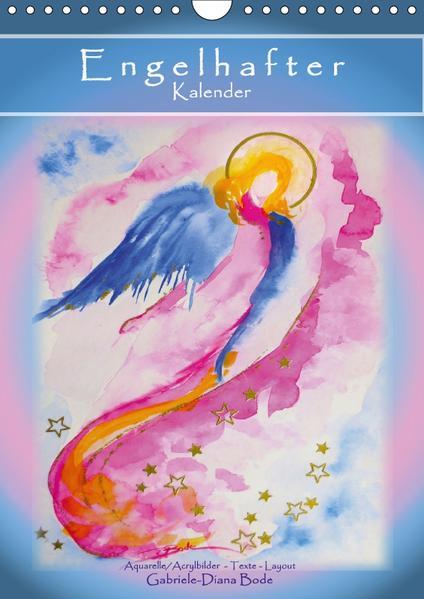 Engelhafter Kalender (Wandkalender 2017 DIN A4 hoch) - Coverbild
