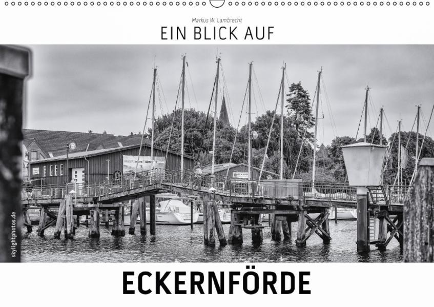 Ein Blick auf Eckernförde (Wandkalender 2017 DIN A2 quer) - Coverbild