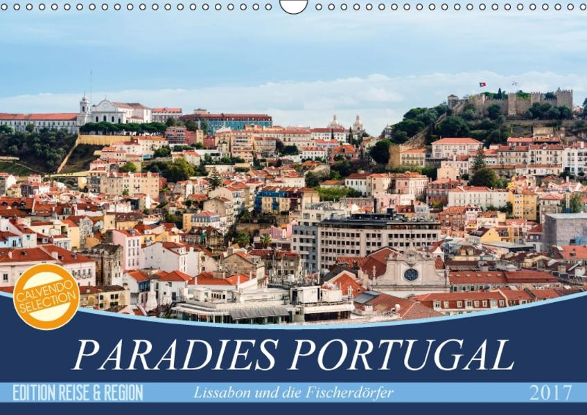 Paradies Portugal (Wandkalender 2017 DIN A3 quer) - Coverbild