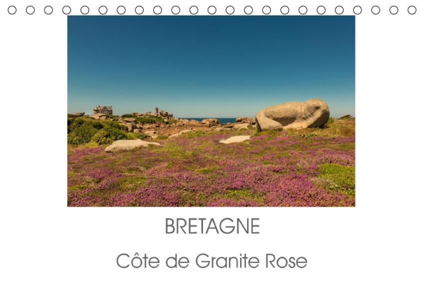 Bretagne - Côte de Granite Rose (Tischkalender 2017 DIN A5 quer) - Coverbild