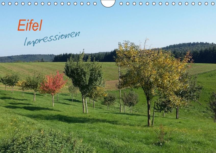 Eifel Impressionen (Wandkalender 2017 DIN A4 quer) - Coverbild