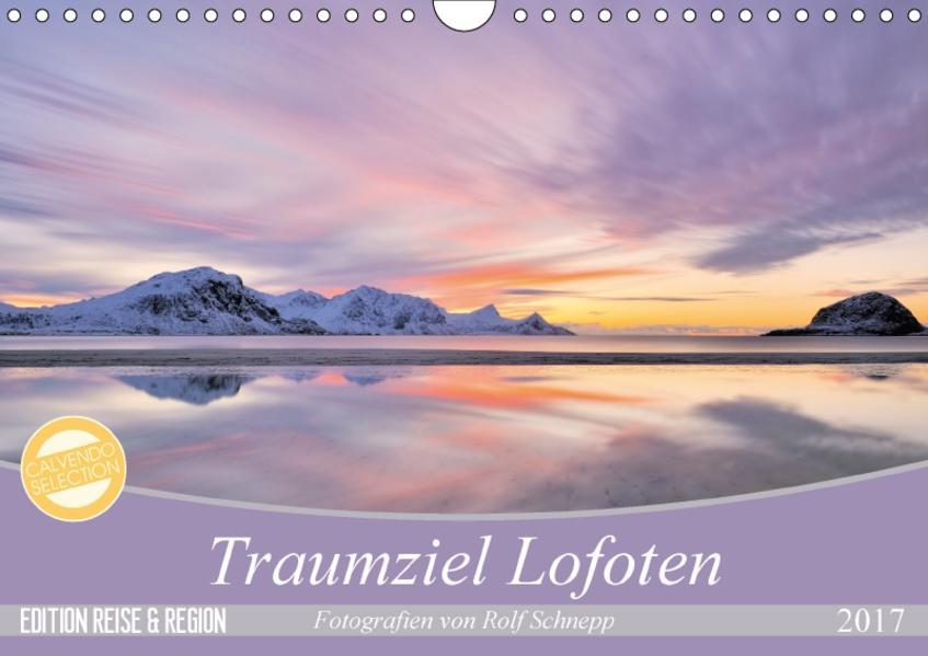 Traumziel Lofoten (Wandkalender 2017 DIN A4 quer) - Coverbild