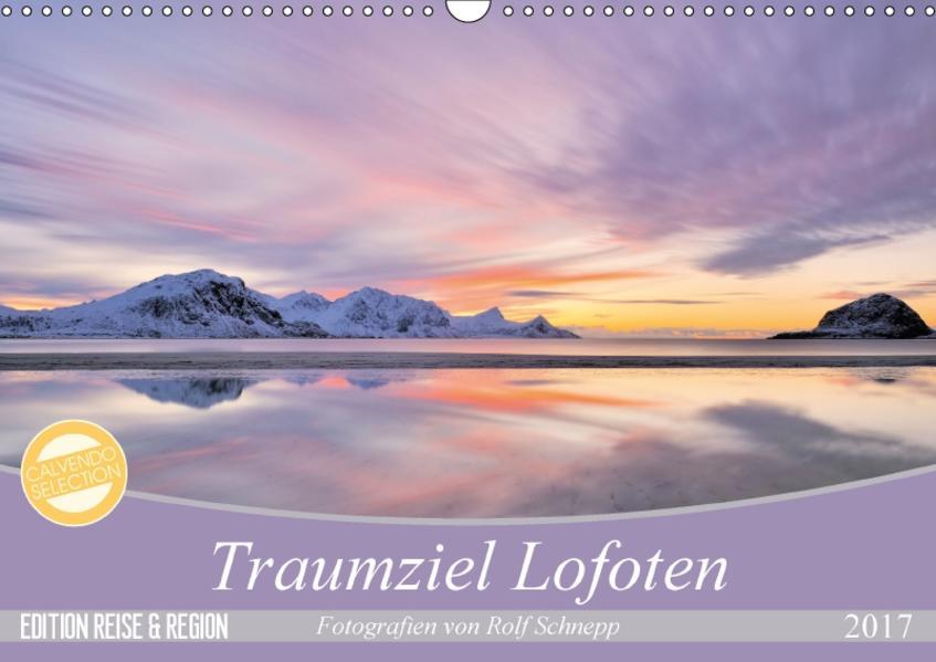 Traumziel Lofoten (Wandkalender 2017 DIN A3 quer) - Coverbild
